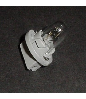 Midway lamp holder w/ bulb