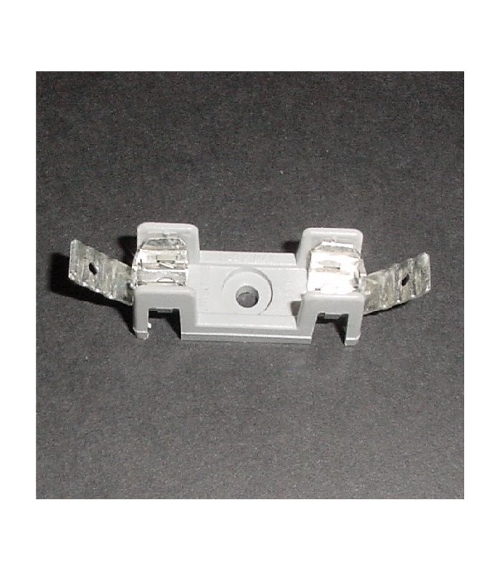 Single position fuse holder