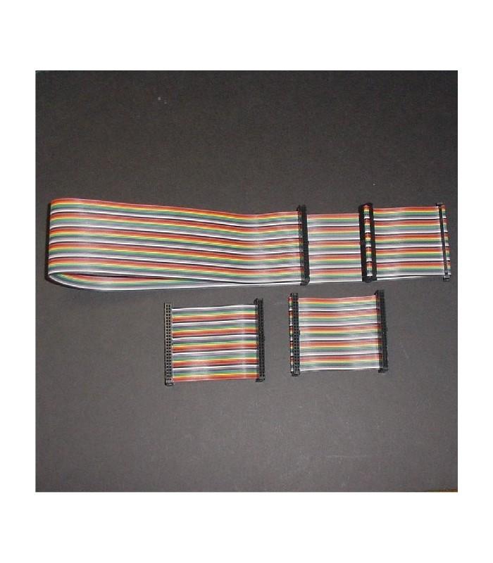Taito Qix / ZooKeeper Ribbon Cable set