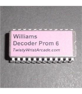 Williams Decoder Prom 6