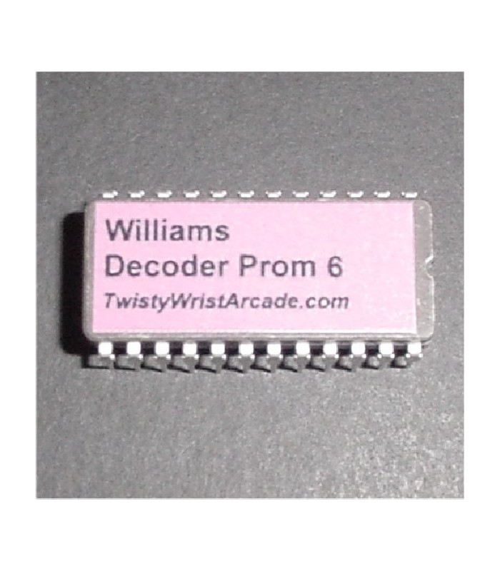 Williams Decoder Prom 6