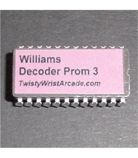 Williams Decoder Prom 3