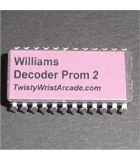 Williams Decoder Prom 2