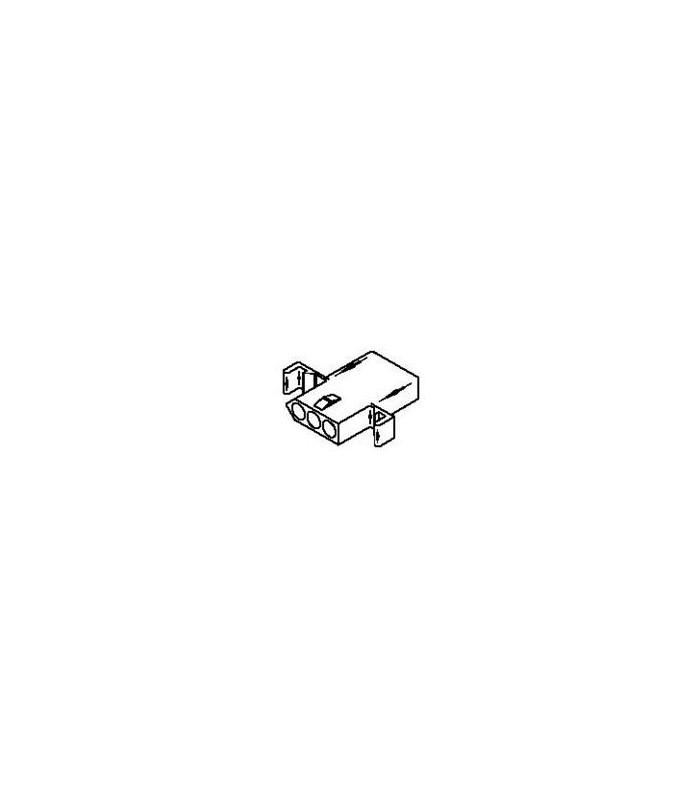 Connector Receptacle 3pos .093