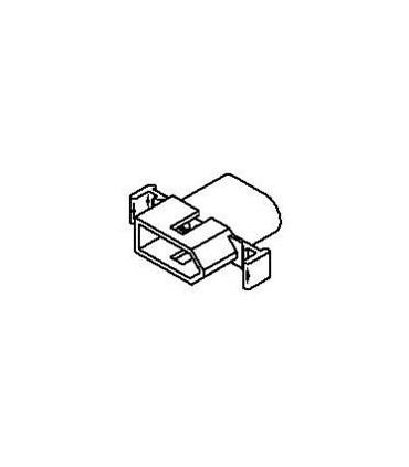 Connector Plug 4pos .093