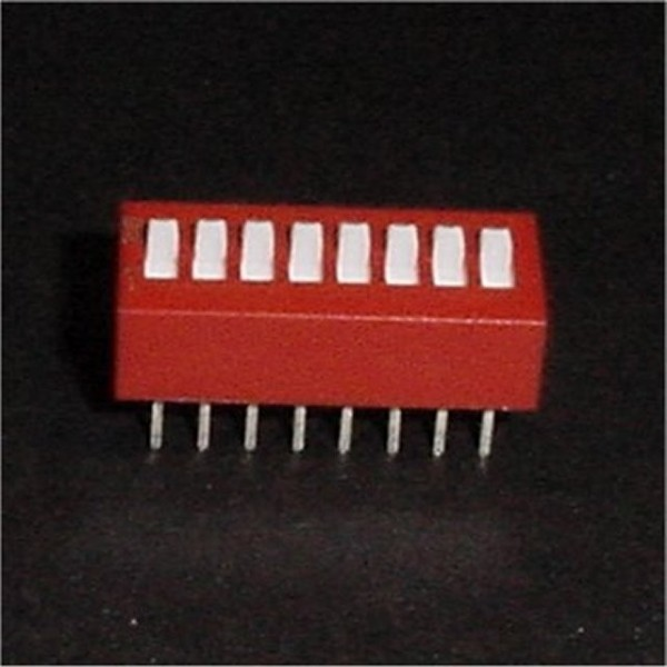 DIP Switch 8 Position