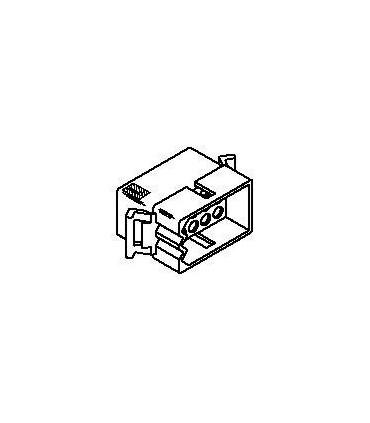 Connector Plug 15pos .093