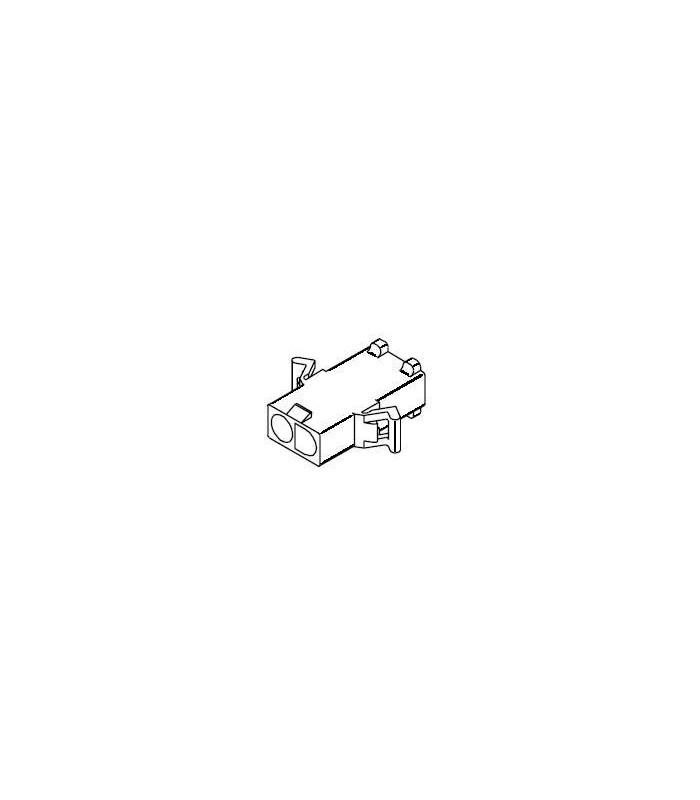 Power Connector, Plug 2pos .093