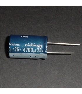 4700uf 25v Radial Capacitor