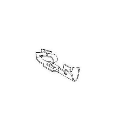 PIN- .156 FEMALE 22-26AWG TIN Trifurcon