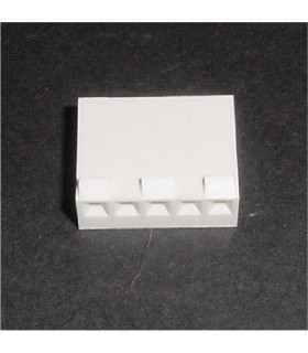 CONNECTOR HOUSING 5POS .156 with RAMP