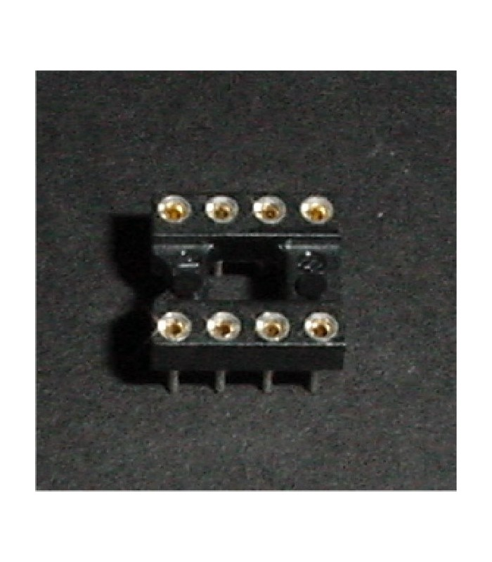 8 Position Machine Pin Socket
