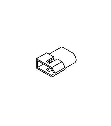 Connector, 3 pos Plug .062