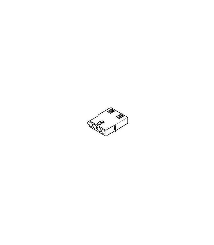 Connector, 4 pos Receptacle .062