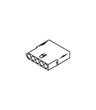 Connector, 5 pos Receptacle .062