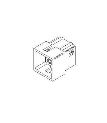 Connector, 9 pos Plug 3x3 .062