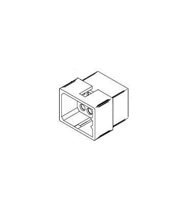Connector, 12 pos Plug 3x4 .062