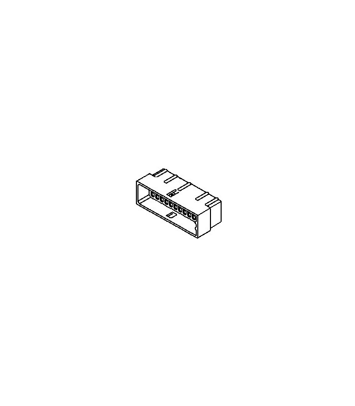 Connector, 36 pos Plug 4x9 .062