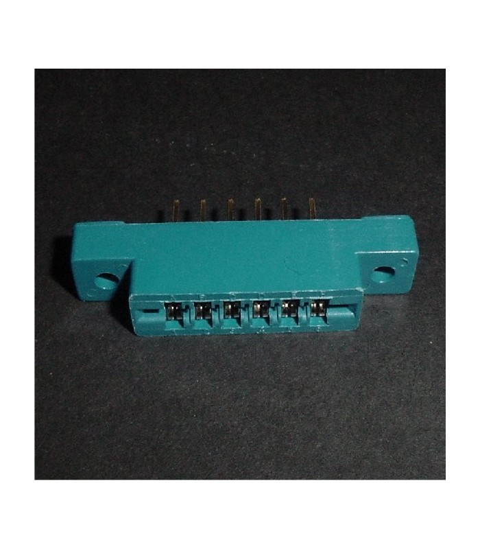 6/12 Edge Connector, Solder Tail