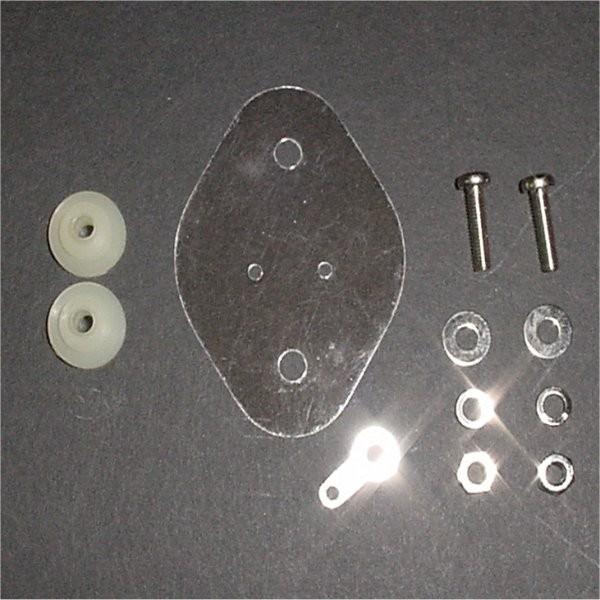 TO-3 Transistor mounting hardware kit, 3PK
