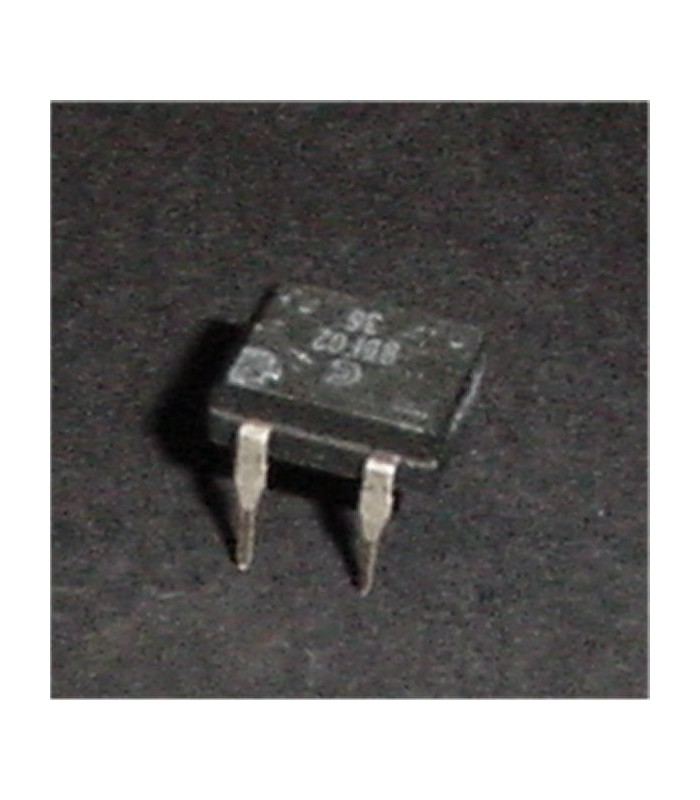 RDF02 DIP Bridge Rectifier, 1a 200v