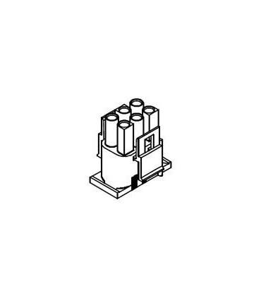 CONNECTOR PLUG 6POS .084