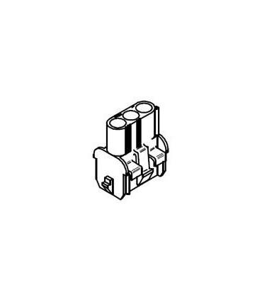 CONNECTOR RECEPTACLE 3POS .084