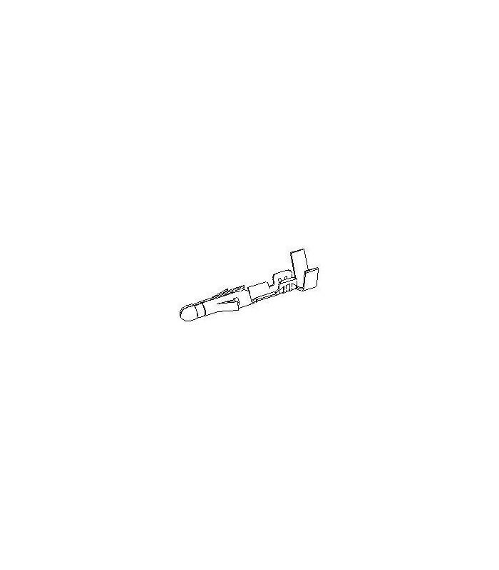 TERMINAL .093 MALE 14-20AWG TIN