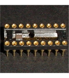 18 Contact machine pin socket