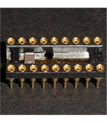 18 Contact machine pin socket