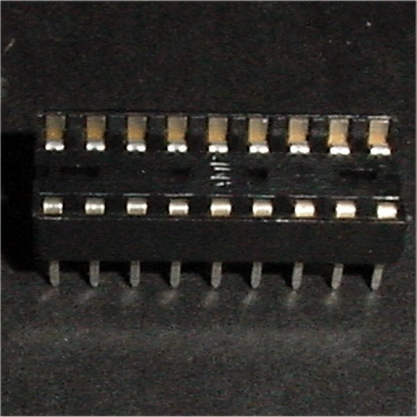"18 Pin .3"" Socket"
