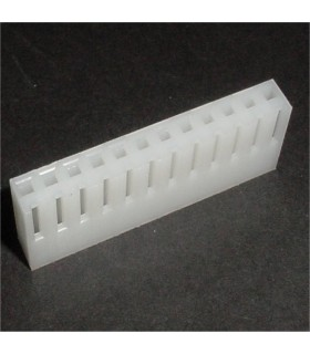 CONNECTOR HOUSING 12POS .156 W/RAMP
