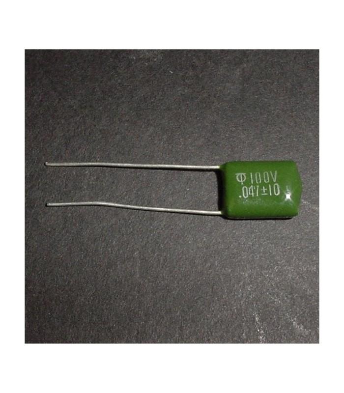 .047uf 100v Mylar capacitor